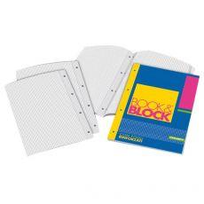 Blocchi collati rinforzati Book&Block Blasetti - A4 - 4 mm - 40 - 5721 (conf.5) - Blasetti