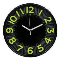 Orologio da parete 3D Methodo - 30,3 - giallo/nero - V150016 - Methodo