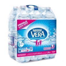 Acqua Vera naturale - 1,5 l - 815283 (conf.6) - Vera