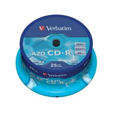 CD Verbatim - CD-R - Spindle - 52x - 43352 (conf.25) - Verbatim