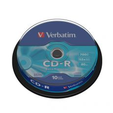 CD Verbatim - CD-R - Spindle - 52x - 43437 (conf.10) - Verbatim