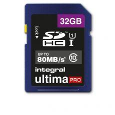 Flash memory card Integral - 32 GB - INSDH32G10-80U1 - Integral
