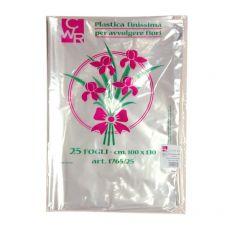 conf. 25 Plastica trasparente per fiori - busta CWR 1765/25 - CWR