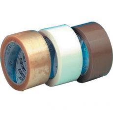 conf. 6 Nastro imballo silenzioso PVC avana 50my Syrom 302 - Syrom