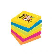 Foglietti Post-It® Super Sticky Rio De Janeiro  - 76x76 mm - 654-6Ss Rio-Eu (Conf.6) - Post-It