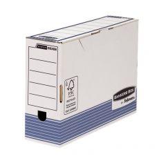 Contenitore Archivio Legal Dorso 10 cm Bankers Box System Fellowes -  36x8x25,5 cm - 0030801 (Conf.10) - Fellowes