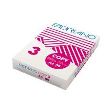 Carta Copy 3 Fabriano - A4 - 80 g/mq - 103 µm - 40021297 (conf.5) - Fabriano
