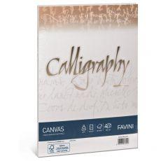 Calligraphy Canvas Ruvido Favini - bianco - A4 - 100 g - A690214 (conf.50) - Favini