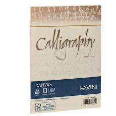 Calligraphy Canvas Ruvido Favini - bianco - 12x18 cm - 100 g - A570417 (conf.25) - Favini