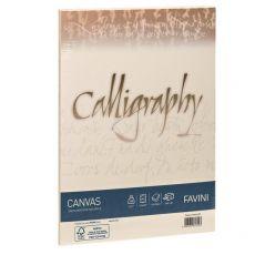 Calligraphy Canvas Ruvido Favini - avorio - A4 - 100 g - A69Q214 (conf.50) - Favini