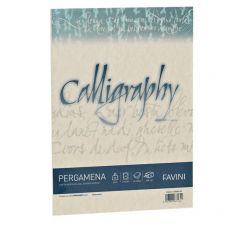Calligraphy Pergamena Liscio Favini - sabbia - fogli - A4 - 190 g - A69U084 (conf.50) - Favini