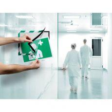 conf. 2 Cornice autoadesiva verde/bianco Durable 4944-131 - Durable