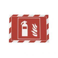 conf. 2 Cornice autoadesiva rosso/bianco Durable 4944-132 - Durable