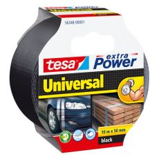 Nastro Extra Power Tesa - Extra Power Universal - Nero - 10 M X 50 mm - 56348-00001-05 - Tesa