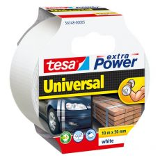Nastro Extra Power Tesa - Extra Power Universal - Bianco - 10 M X 50 mm - 56348-00005-05 - Tesa
