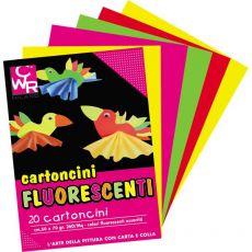Cartoncino Fluorescente CWR - 50x70 cm - Assortiti - 2150/10 (conf.10) - DECO