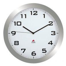 Orologio da parete Big-Big Clock Alba - grigio metallizzato - Ø 38 cm - HORISSIMO M - Alba