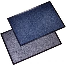 Tappeti antipolvere Floortex - bianco e nero - 90x120 cm - FC49120DCBWV - Floortex