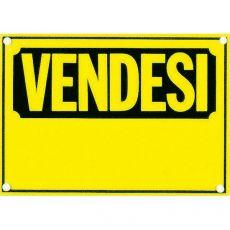 Cartello segnaletico in cartoncino fluorescenti CWR - vendesi - 23x32 cm - 315/4 (conf.10) - CWR