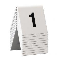conf. 10 Segnaposto set da n° 1 a n° 10 Securit TN-1-10 - Securit