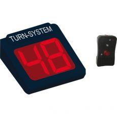 Display 2 cifre e radiocomando per Kit Eliminacode Nero/rosso Printex - Tr/dis2/led k - Printex