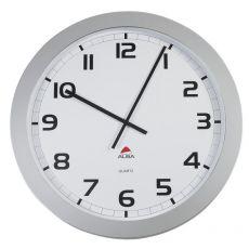 Orologio da parete Big-Big Clock Alba - grigio metallizzato - Ø 60 cm - HORGIANT - Alba