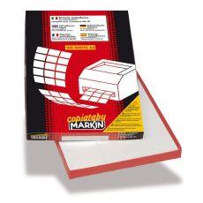 Etichette adesive Markin - 105x37 mm - Nr. etichette / foglio 16 - X210C511 (conf.100) - Markin