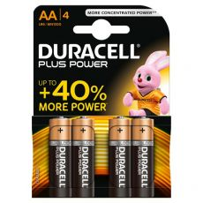Pile Duracell Plus - stilo - AA - 1,5 V - MN1500B4 (conf.4) - Duracell