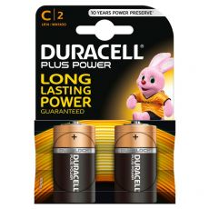 Pile Duracell Plus - mezzatorcia - C - 1,5 V - MN1400B2 (conf.2) - Duracell