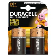 Pile Duracell Plus - torcia - D - 1,5 V - MN1300B2 (conf.2) - Duracell