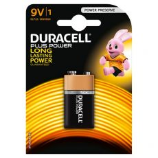 Pile Duracell Plus - transistor - 9 V - MN1604B1 - Duracell
