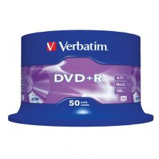 DVD Verbatim - DVD+R - 4,7 Gb - 16x - Spindle - 43550 (conf.50) - Verbatim