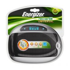 Caricabatterie Universale o Quattro + Energizer - AA/AAA/C/D/9V - 3/5 ore - 629875 - Energizer