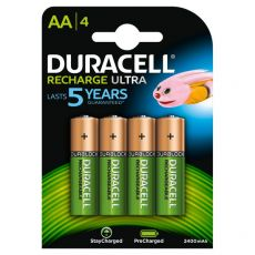 Pila ricaricabile stay charged Duracell - stilo - AA - 1,2 V - 94057050 (conf.4) - Duracell