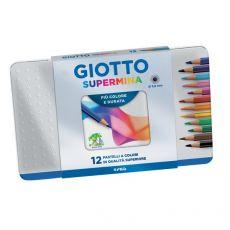 Giotto Supermina Scatola in metallo  - 236700 (conf.12) - Giotto
