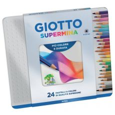 Giotto Supermina - 236800 - scatola in metallo (conf.24) - Giotto