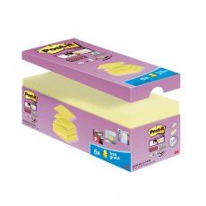 "Foglietti Post-it® Super Sticky a ""Z"" Value Pack - 76x76 mm - giallo Canary™ - R330-SSCY-VP20 (conf.20) - Post-It"
