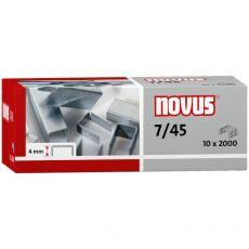 Punti 7/45  per cucitrice a pinza B34 Novus -  H200548 (conf.2000) - Novus