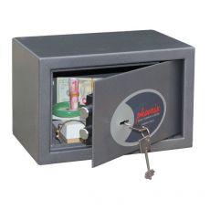 Cassaforte da mobile con chiusura a chiave Phoenix - valori e documenti - 31x20x20 cm - 4,5 kg - SS0801K - Phoenix