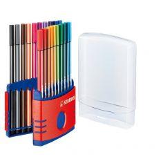 Astuccio in plastica Pen 68 Stabilo - 6820-03 (conf.20) - Stabilo