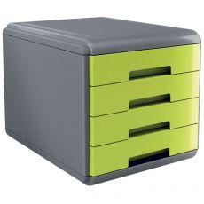 Accessori Da Scrivania My Desk Arda - Cassettiera - 29,5x38,5x28,2 cm - Verde - 18P4Pv - Arda
