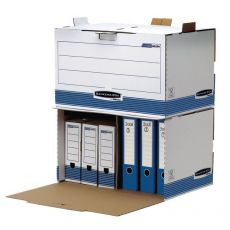 Container Archivio Bankers Box System Fellowes - 33,5x55,7x38,9 cm -  0029901 (Conf.5) - Fellowes