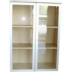 Ante vetro per mobile Linea Axxel acero Ergosit - 45x130 cm - UEMATV13 (conf.2 ante) - UNISIT