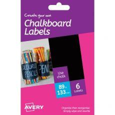 Etichette bianche removibili Avery - 95x131 mm - 1 - rettangolare - HCH01 (conf.6) - Avery