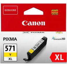Originale Canon 0334C001 Cartuccia inkjet alta capacità CLI-571Y XL 1 giallo - Canon