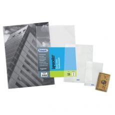 Buste a sacco Upocket Favorit - trasparente - 6x10 cm - 400102317 (conf.100) - Favorit