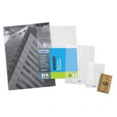 Buste a sacco Upocket Favorit - trasparente - 11x16 cm - 400102331 (conf.100) - Favorit