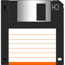 "Floppy Disk 3.5"" - 1.44MB - Quickcopy - conf.10pz - Executive"
