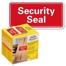 "Sigilli di sicurezza Avery ""Security Seal ""- 38x20 mm - 200 et/rotolo - rosso - 7311 - Avery"