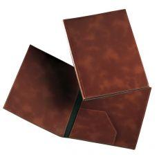 Cartella portadocumenti similpelle Munari - 25x35 cm - marrone bruciato - 20300MU23CT - Munari